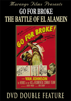 Go for Broke starring Van Johnson 1950 DVD