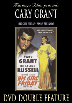 His Girl Friday starring Cary Grant DVD