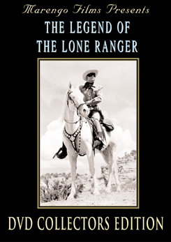 The Legend of the Lone Ranger DVD starring Clayton Moore