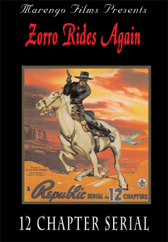 Zorro Rides Again 12 Chapter Serial on DVD