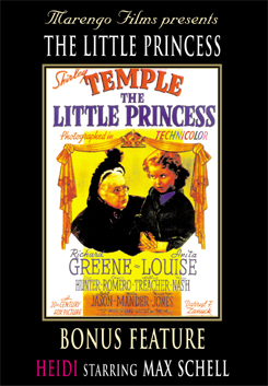 The Little Princess starring Shirley Temple on DVD