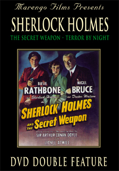 Sherlock Holmes and the Secret Weapon starring Basil Rathbone DVD