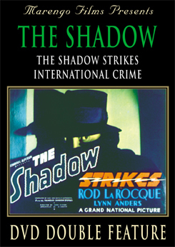 The Shadow Strikes VHS Video